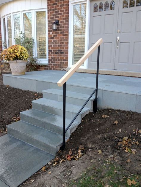 Handrails On Steps Stairs Inspiring Exterior Handrails Exterior Handrails