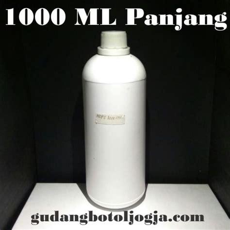 Tutup Fliptop Semua Ukuran botol hdpe 1000 ml panjang putih doff distributor botol
