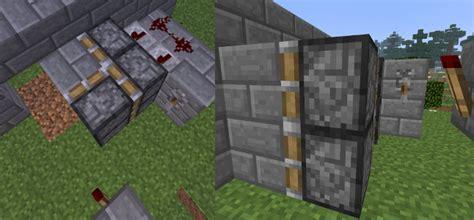How To Make A Completely Hidden Door In Minecraft