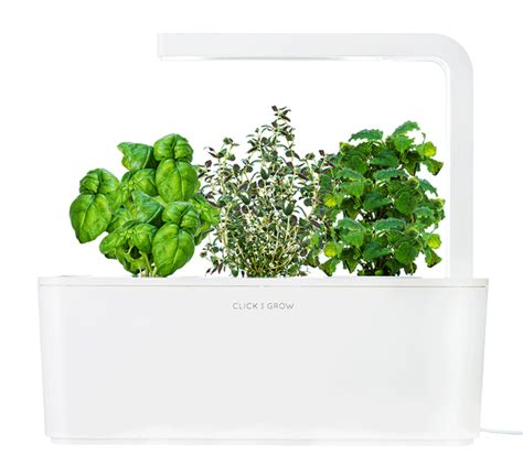 click and grow garden a grown up smart countertop herb garden