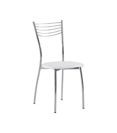sedie da cucina sedia da cucina in acciaio cromato ed ecopelle