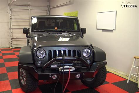 How To Install A Winch On A Jeep Wrangler How To Install New Bumpers And A Winch On A Jeep Wrangler