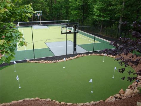 sports construction gallery courts putting greens
