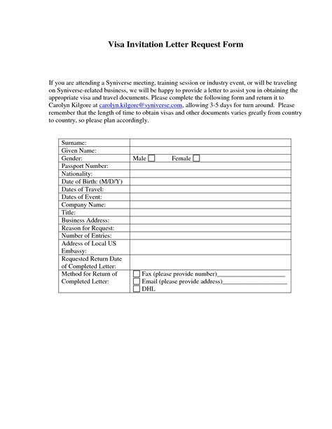 Invitation Letter Request Form Sle Letter Of Request Study Visa By Xfh15459 Chainimage