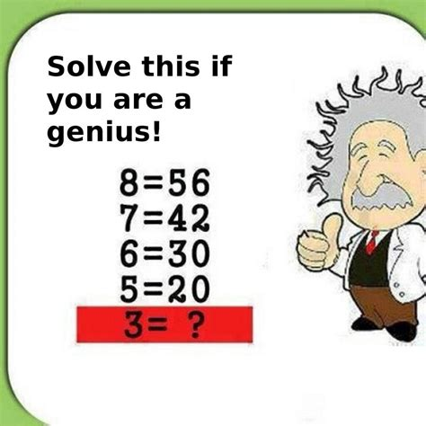 solve this if you are a genius brent logan