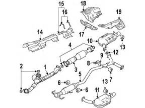 parts 174 genuine factory oem 2007 mazda 6 s v6 3 0 liter gas exhaust manifold