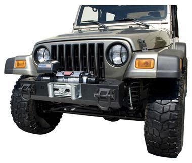 rugged ridge australia rugged ridge tj wrangler xhd winch mount front bar center section