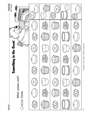 abc pattern for kindergarten pattern worksheets 187 pattern worksheets for preschoolers