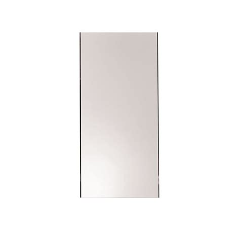 ginger bathroom mirrors ginger 4641n n a kubic 16 quot w x 34 quot h beveled frameless
