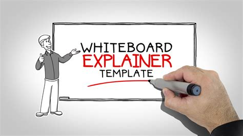 After Effects Templates Whiteboard Explainer Youtube Whiteboard After Effects Template