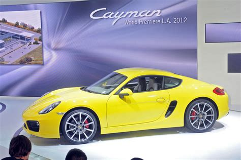 Porsche Cayman S Yellow by New Porsche Cayman S Yellow Live From Los Angeles