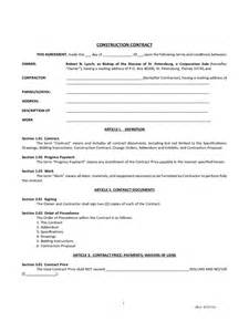 Sample Barter Agreement Template simple contract template 6 free templates in pdf word