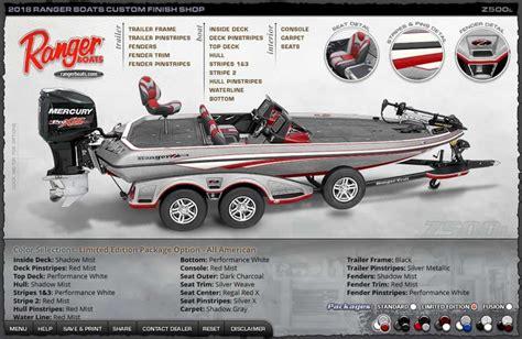 ranger boats nd ranger 2018 z500l colors vics boats home