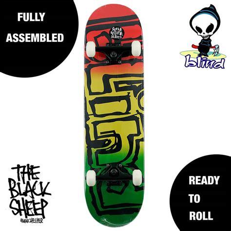 Saturday Skateboard Setup 8 0 blind skateboards og logo saver rasta 8 25 quot complete skateboard setup new ebay