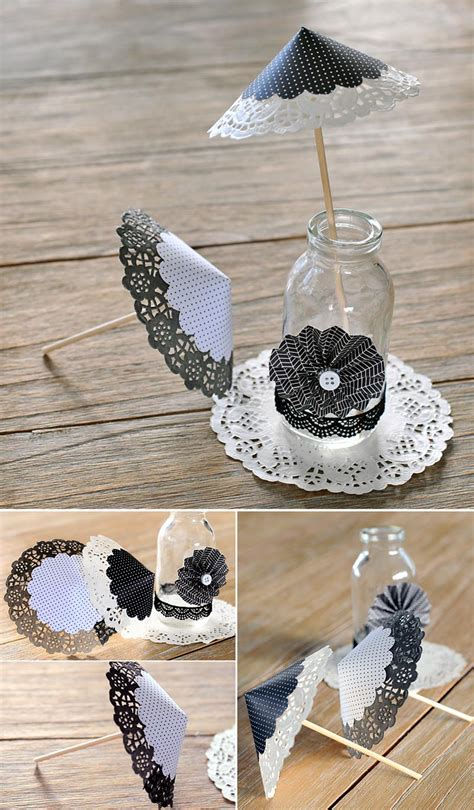 11 usos de las blondas en tu boda 5 ideas para decorar con blondas en blanco y negro