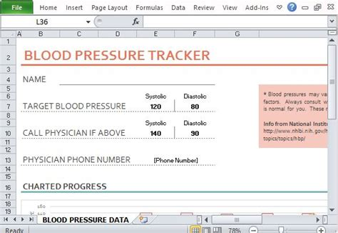 Blood Pressure Cards Template by Blood Pressure And Rate Tracker Template For Excel