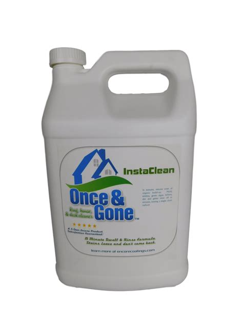 exterior surface cleaner removes mold mildew dirt grime