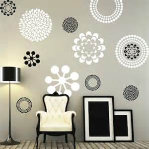 bedroom wall decals ideas modern flower wall decals bedroom wall decal by