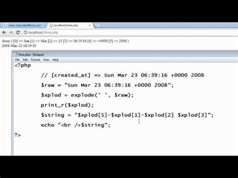 date format in php from database phpmyadmin scripts db setup init php videolike