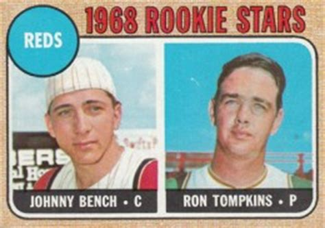 johnny bench rookie 10 most valuable rookie cards from the 1960s