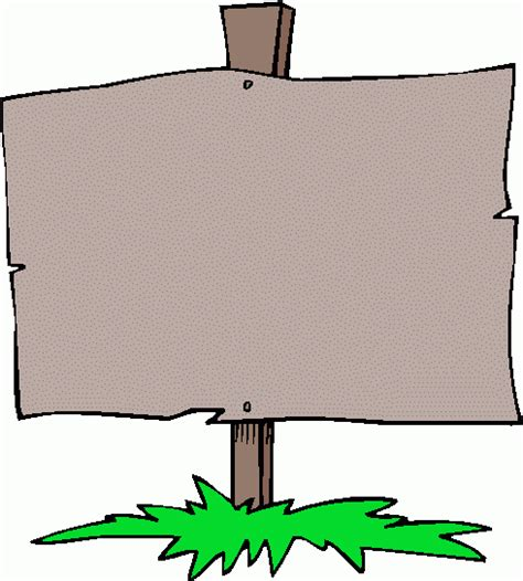 signboard template blank sign clipart clipart best clipart best
