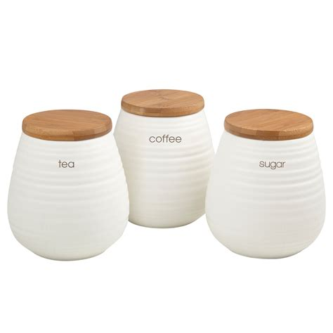 kitchen ceramic canisters ceramic kitchen storage canister set