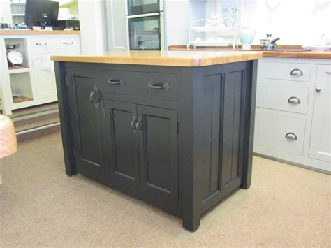 Kitchen Islands Ebay Murdoch Troon Freestanding Painted Pine Kitchen Island Unit Oak Top Ebay