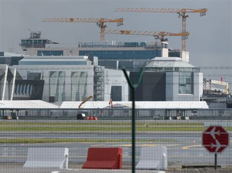 brussels airport brussels airport reopens as passenger flight takes
