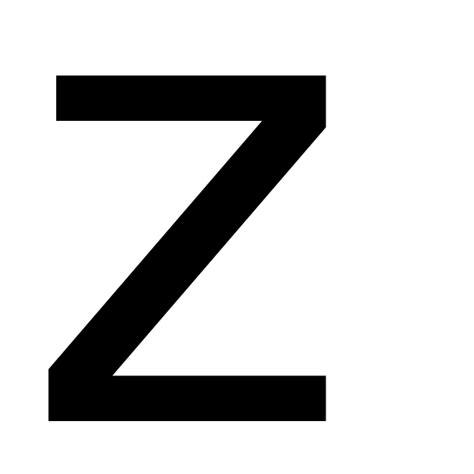 Letter Z Original File Letter Z Svg Wikimedia Commons