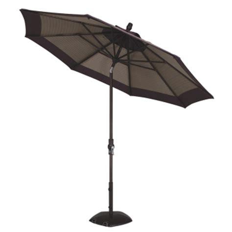 Accessories For Patio Umbrellas 9 Collar Tilt Aluminum Umbrella By Treasure Gardens