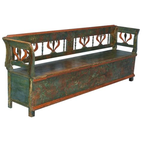 antique storage benches antique wooden storage bench www imgkid com the image