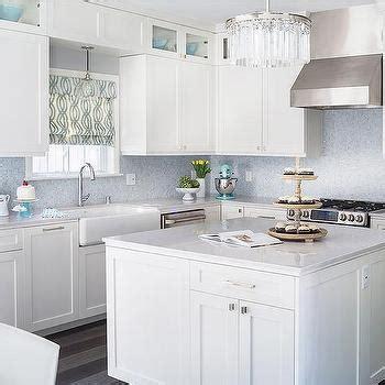 blue and white tile backsplash blue mosaic tile backsplash contemporary kitchen