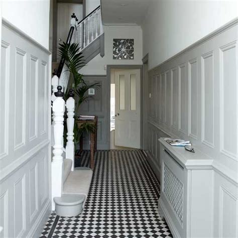 grey wallpaper for hallway white hallway with panelling hallway ideas hallway