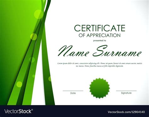 certificate of appreciation template powerpoint patriotic certificate of appreciation template image