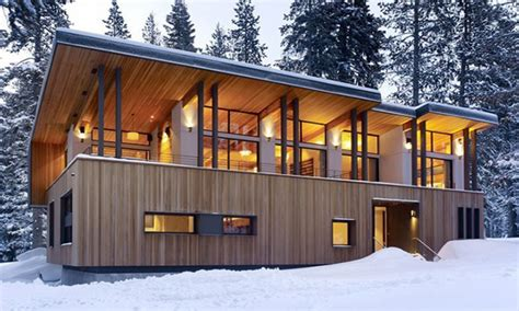 Mountain Cabin Designs by Mountain Home Plans Modern Cabins Modern Mountain Cabin