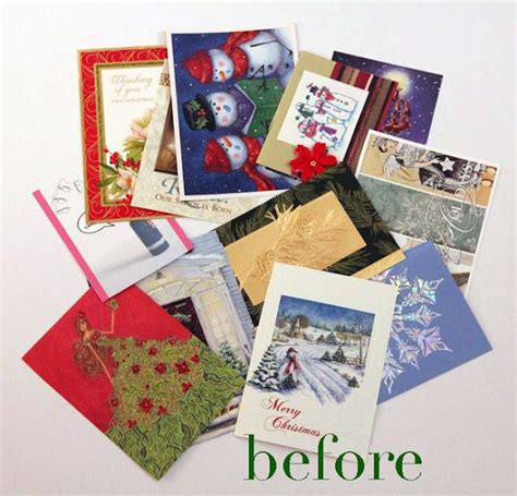 17 best ideas about recycled christmas cards on pinterest