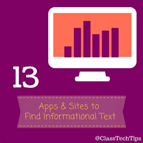 Find To Text 13 Apps To Find Informational Text Class Tech Tips