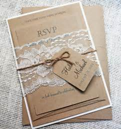 invitation kits wedding jaw dropping rustic wedding invitation kits theruntime
