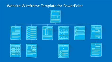 Website Sitemap Powerpoint Template Slidemodel Powerpoint Websites For Free