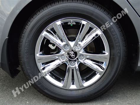 hyundai wheel cover 2011 13 hyundai sonata chrome wheel cover set gls model