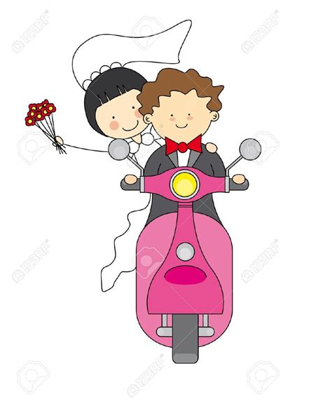 Clipart Wedding Pics by Wedding Clipart Images Just Married