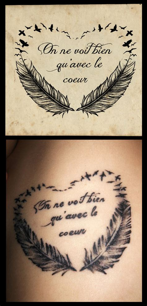 feather tattoo with quote small feather tattoos with quotes quotesgram