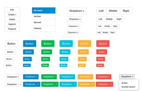 design elements bootstrap html css psd and more 24 free design resources from