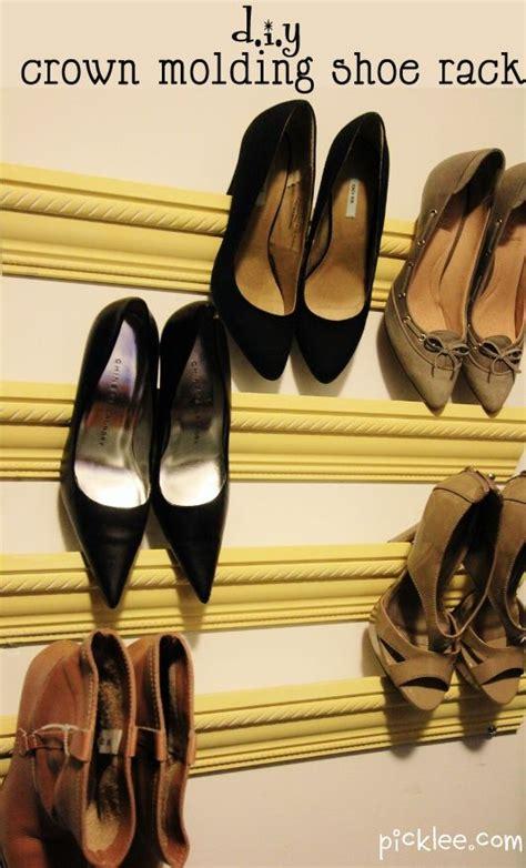 Crown Moulding Shoe Rack make your own diy crown moulding shoe rack sika for diy and home renovation