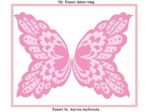 Sayap Wings Sayap Bidadari 45x35cm fairies wing fanart fan 17322358