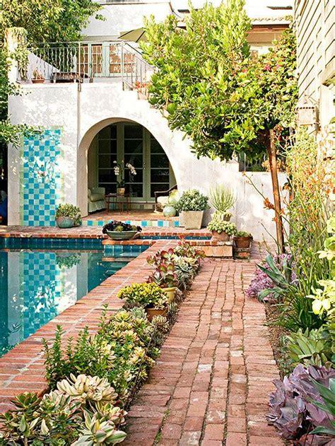 spanish style backyard pretty and practical backyard ideas spanish style patio