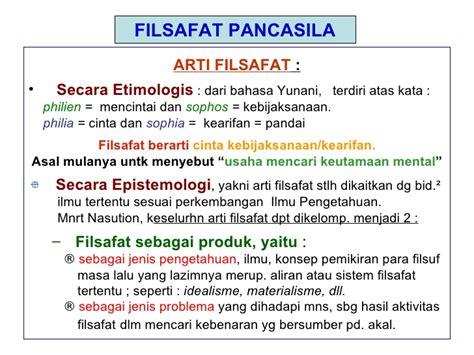 Filsafat 5 In 1 I Filsafat Pancasila