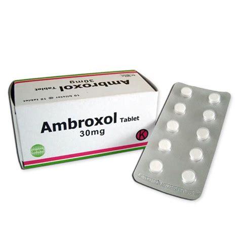 Mucopect30mg ambroxol tablet 30 mg ambroxol ibn al haytham syrup each 5 ml of ambroxol syrup