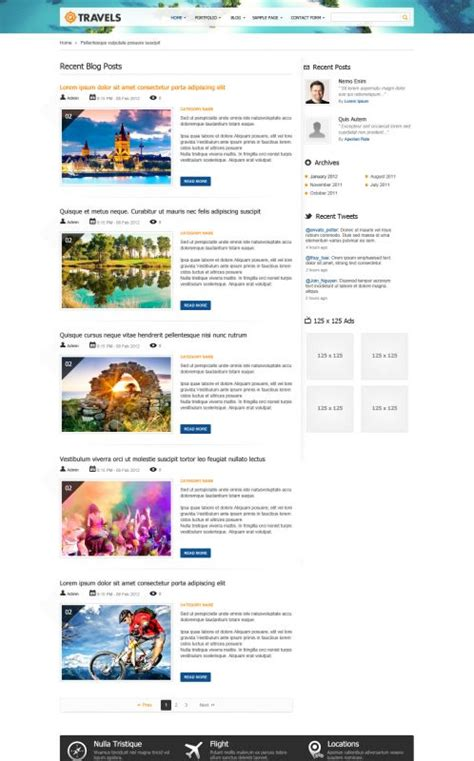 travel magazine wordpress theme traveling wordpress