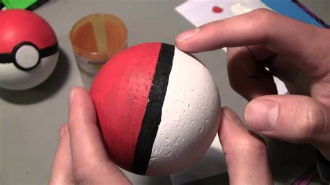 How To Make Pokeballs Out Of Paper - how to make pokeballs